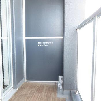 この小さめのバルコニーから見えるのが※写真は11階の同間取りの別部屋です。