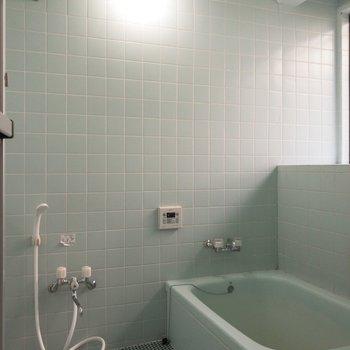 浴室の広さに驚きましたよ〜