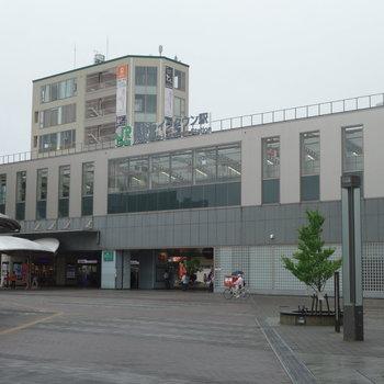 ここが越谷レイクタウン駅。