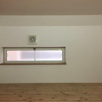 天井は低めですがたっぷり収納できそうです!