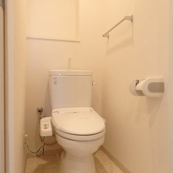 お手洗いです※写真は同間取り別部屋のものです。