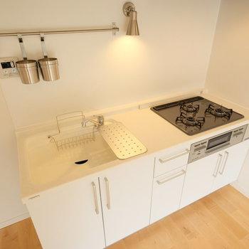 【イメージ】キッチンは3口!