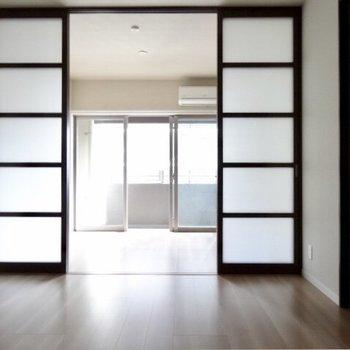 日当たりは普通なのです。※写真は5階の反転間取り別部屋のものです