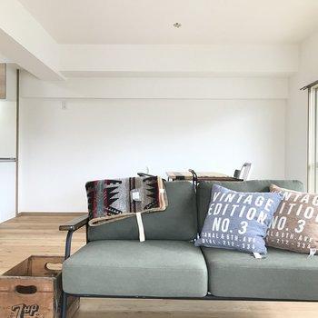 ソファも余裕で置けちゃいます※家具は備え付けではありません