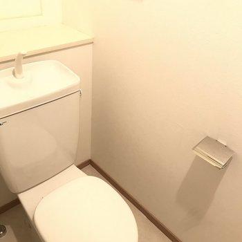 トイレにはウォシュレットが付いていません