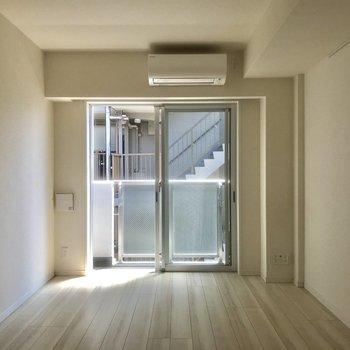 爽やか〜♪※写真は5階の反転間取り別部屋です。