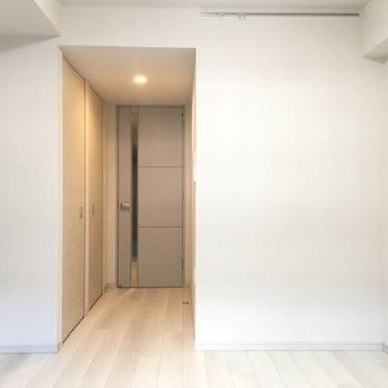 ナチュラルでいい感じ。※写真は2階の反転間取り別部屋