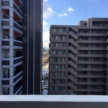 ビルビューです・・・※写真は10階の角部屋ではない同間取りの部屋ものです