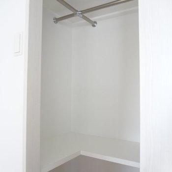 かなり収納できそう!※写真は10階の角部屋ではない同間取りの部屋ものです