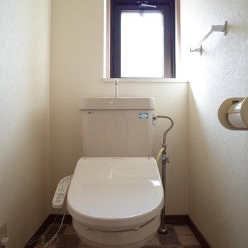 トイレのタイルがお気に入り♩