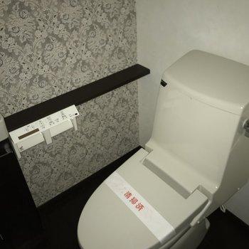 トイレにはウォシュレットが付いてました、嬉しい〜!※写真は別室です