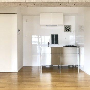 キッチンもお部屋のアクセント