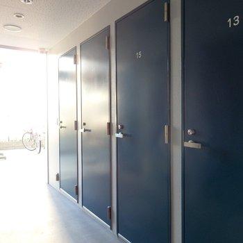 トランクルームも付いています!