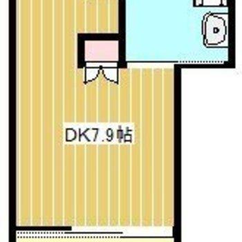 ダイニングとベッドルームを分けて!