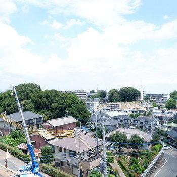 眺望は高台にあるから良いですよ〜!!