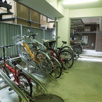 駐輪場※写真は同間取り別部屋のものです。
