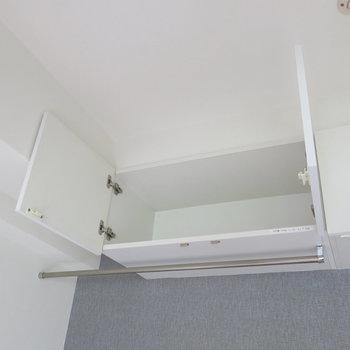天井高を利用した収納!※写真は同間取り別部屋のものです。
