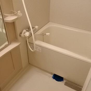 お風呂もゆったりめ(※写真は同じ間取りの6階の角部屋のものです)