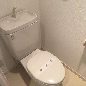 トイレもシンプル!