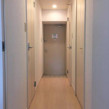 うん!廊下も明るい!