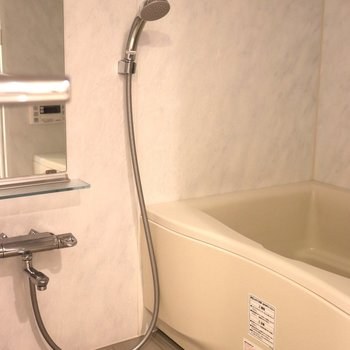 洗い場が広いお風呂