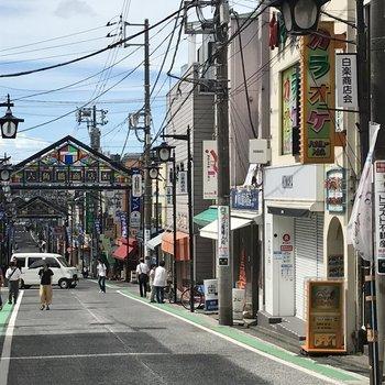 どこか懐かしい雰囲気。六角橋商店街