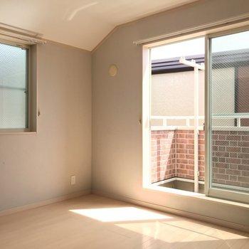 もう一つの洋室。日当たり◎