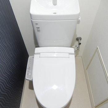 オトナな感じのトイレ