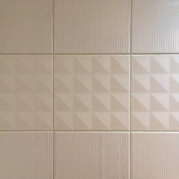 こんなタイル。※7階同じ間取り別部屋の写真です。