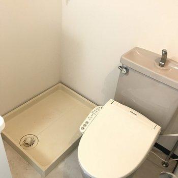 トイレはオープンスタイル。