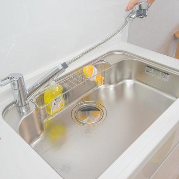 わ!シャワー水栓でした。嬉しい。※写真は同タイプのモデルルームです