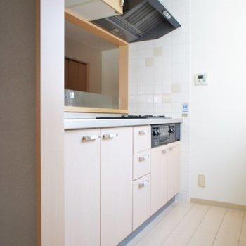 このキッチンの広さ、、羨ましいーーーっ!