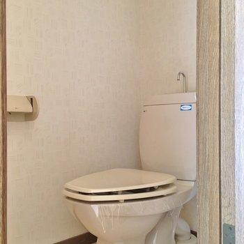 トイレは別です!※1階の同じ間取りのお部屋です。