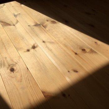 光が当たると一層雰囲気が良いんです◎※1階の同じ間取りのお部屋です。