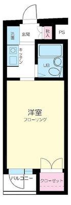 スカイコート西新宿第2 の間取り