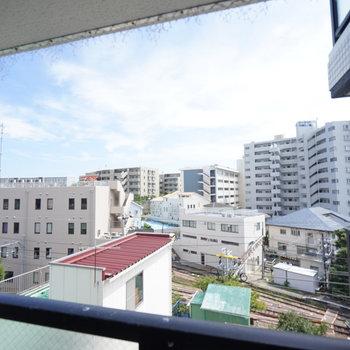 眺望もイイ!※写真は5階の同じ間取りの別部屋です。
