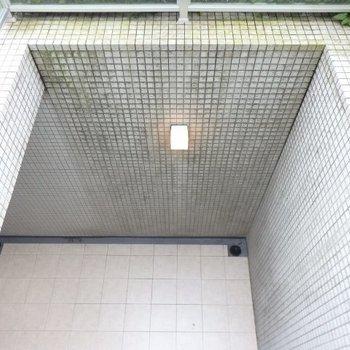 下をみると、秘密のテラス※1階別部屋反転間取りの写真です。