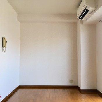 ほら、家具の配置がしやすそうでしょう?(※写真は7階の同間取り別部屋のものです)