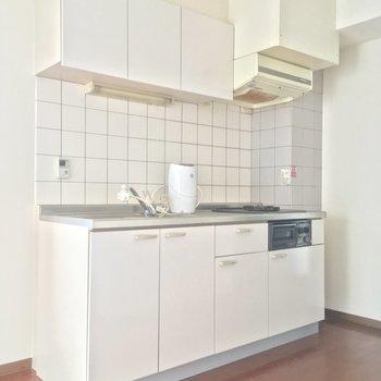 キッチンはこちらっ※2階別部屋反転似た間取りです。