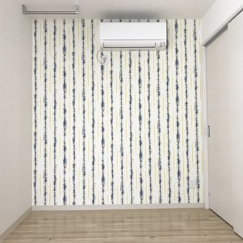 壁紙かわいい!※写真は別部屋です