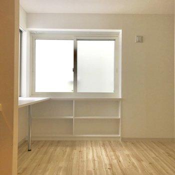 キッチンからの風景〜※写真は別部屋です
