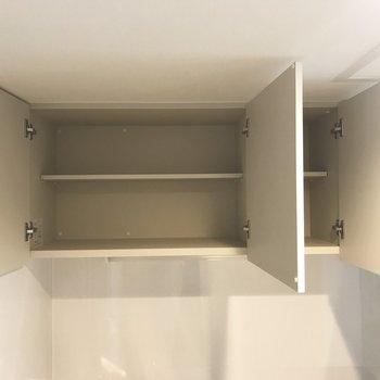 キッチンの収納!※写真は別部屋です