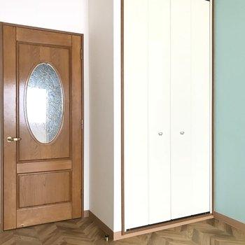 かわいげドアとクローゼット