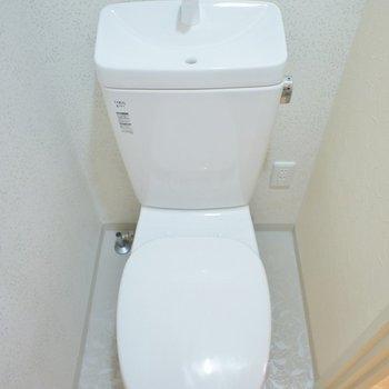 トイレはいたってふつうです