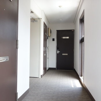 ビルの11階にお部屋あります。