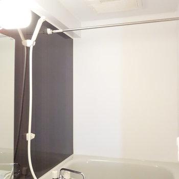 浴室には乾燥機能ついてます。