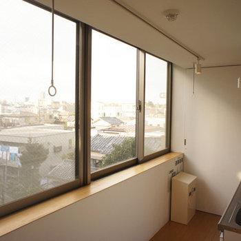 これは4階からの眺め※写真は似た間取りの別部屋