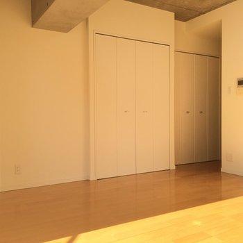 わかります?ちょっと斜めな間取り!クローゼットは大きめ!※写真は8階、同間取りの別部屋です。
