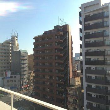 眺望!素晴らしい!※写真は8階からの眺望です。