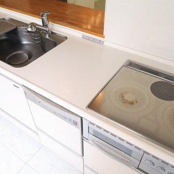 設備が充実したキッチン